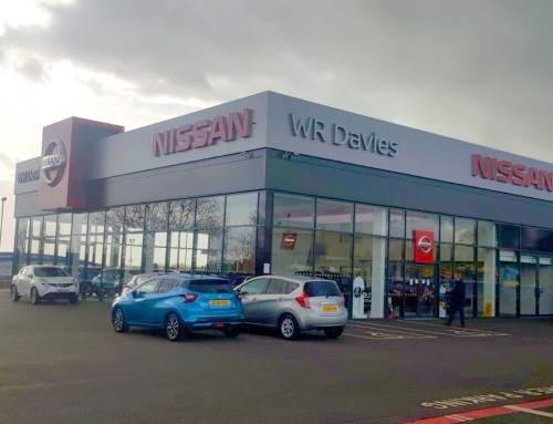 WR Davies Nissan Garage, Stafford